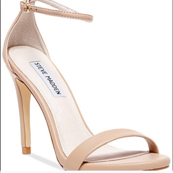 73a71ef2a0d Steve Madden Nude strappy heels Strappy Skin tone